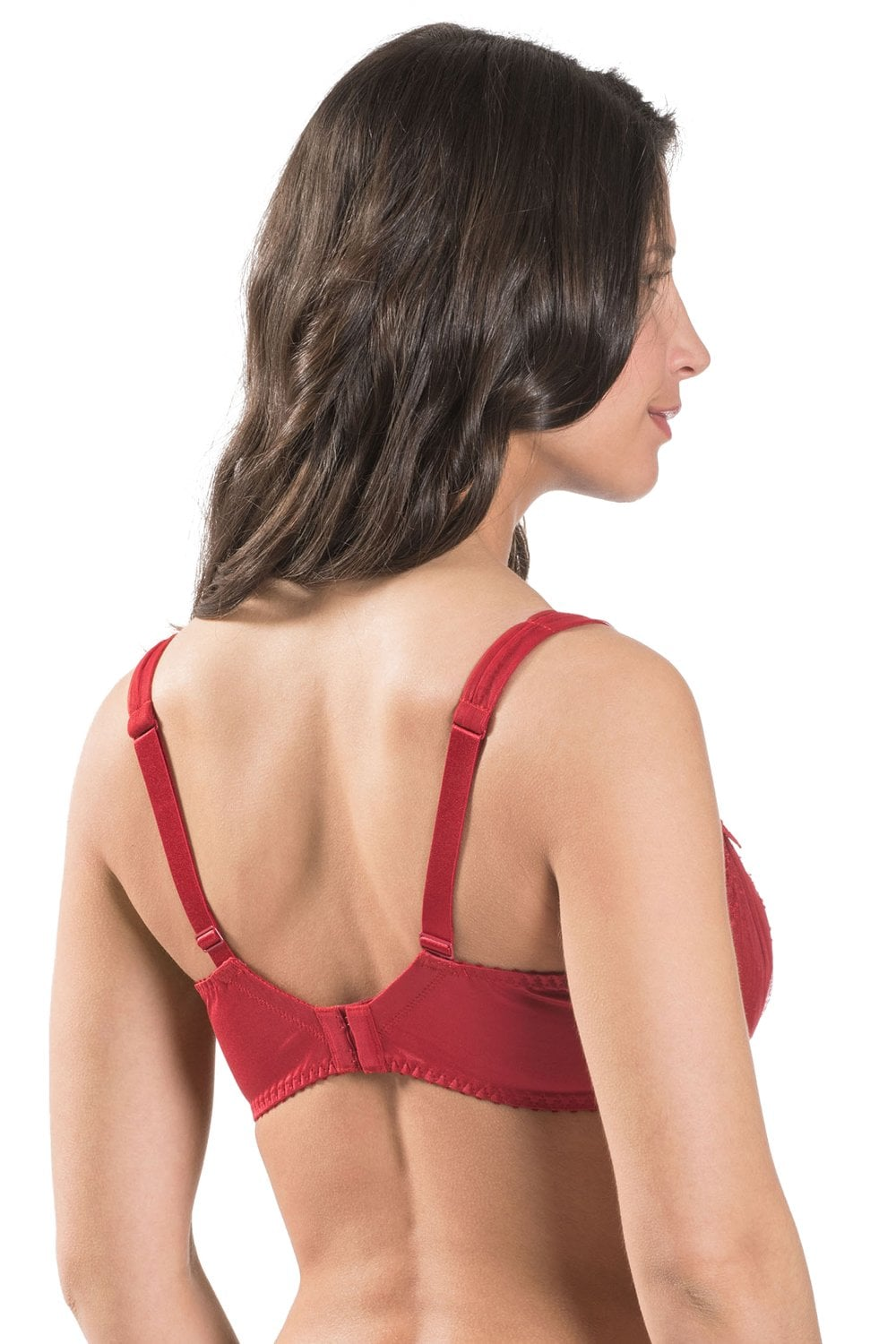 efee60e837140 Aubade L  039 Amour Rouge Darling Half Cup Bra F G Cup