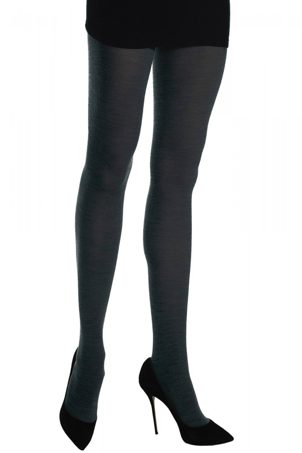 special discount new photos newest selection Merino Wool Tights Dark Grey