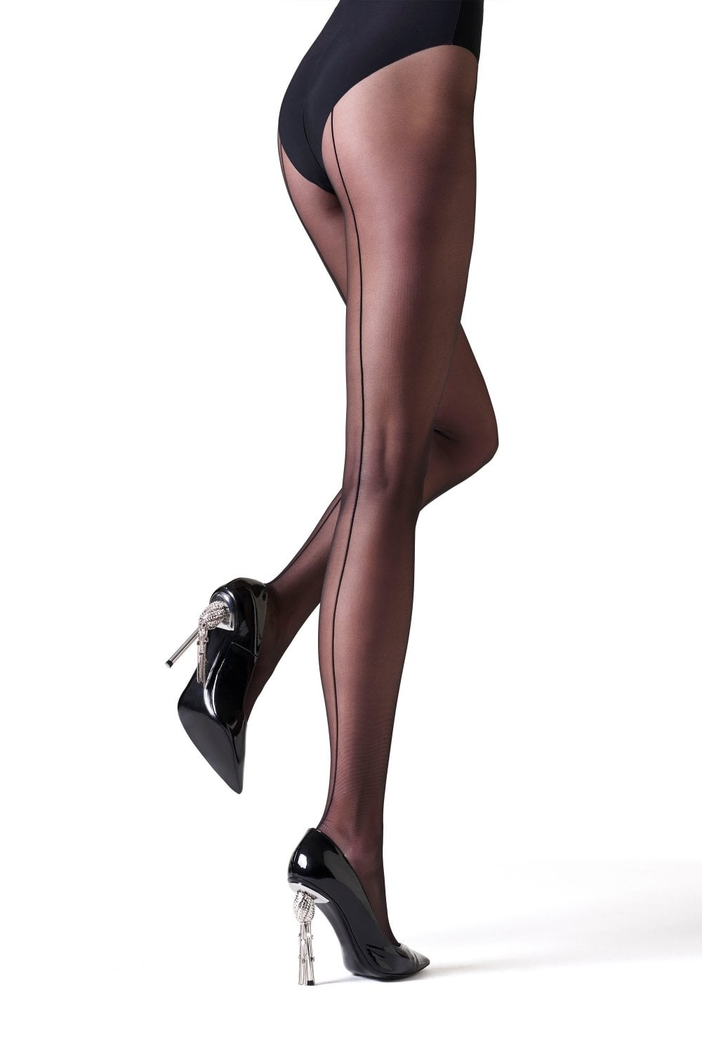 official cheapest new york La Perla Elsa Seamed Tights | Seamed Tights at Leglicious
