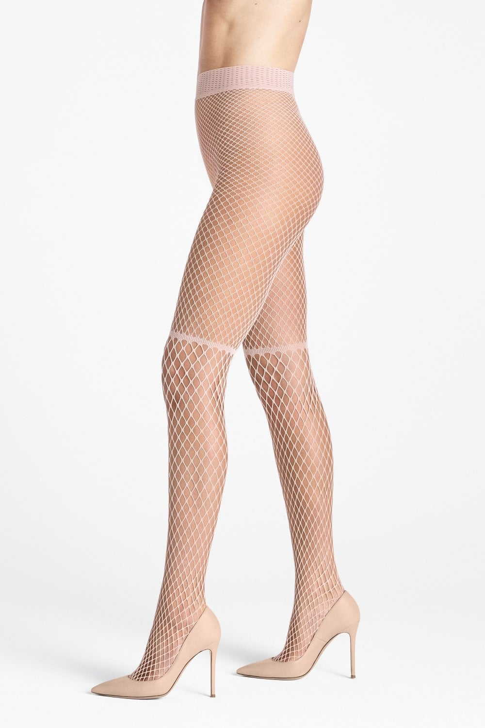 dc0a354fd42 Wolford Early Haze Tights Petal Rose