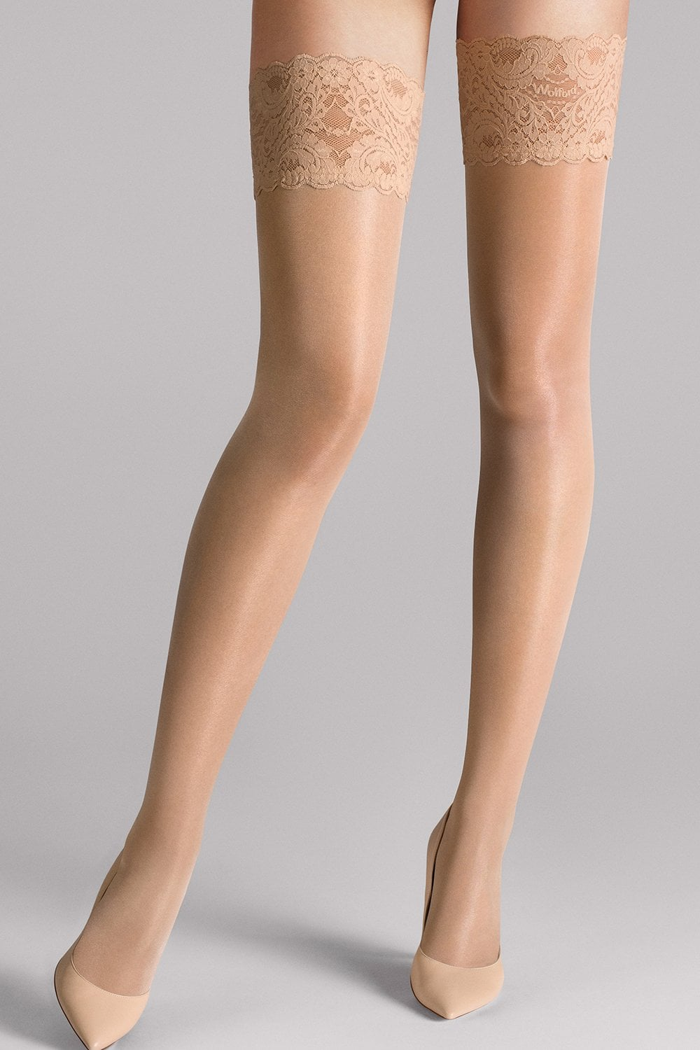 48a100a9f Wolford Satin Touch 20 Hold Ups