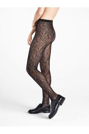 c02f7ae4ca3 Wolford True Blossom Floral Tights